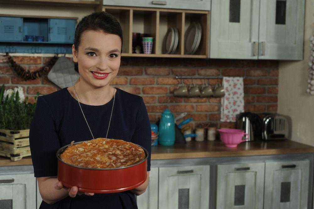 """Ania Starmach na planie programu """"Pyszna Wielkanoc"""""""